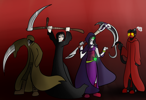 Don't fear the reapers by Saragonvoid