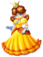 Princess Daisy: Collab by Bowser2Queen