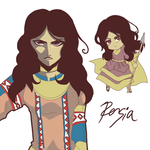 APH - Persia doodle by R-ninja