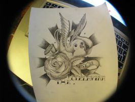tattoo sketch 7 by TheWagtail