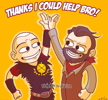 THANKS I COULD HELP BRO by TtotheAFFY