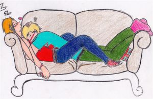 Usuk .::Cuddles::. by nimeare