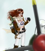Spitfire. by Captain-Starbuck