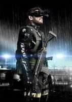 Metal Gear Solid Ground Zeroes Pomotional Poster by DarksidernemesiS