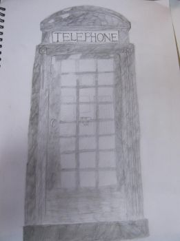 Telephone box by ImaginationEmily