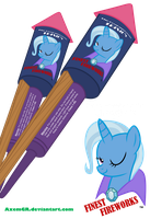 Trixie's Finest Fireworks by AxemGR
