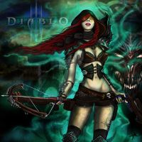 Demon-Hunter-Class-Diablo-3-Contest-Entry by hhcutie