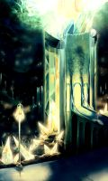 Crystal Towers by KalaSketch