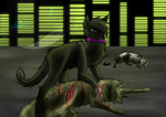 Scourge's first kill by FIamesong
