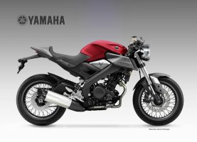 YAMAHA MT-125-CR by obiboi