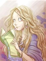 Luna Lovegood by LordSiverius