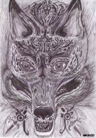 Tribal Fox by Gwena1990