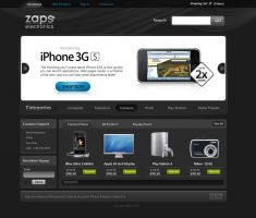 ZAPS electronics by prkdeviant