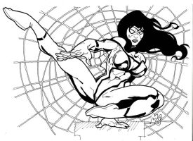 Spider woman by mikems71