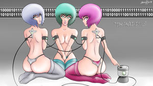 data synced dolls by skunx-factory
