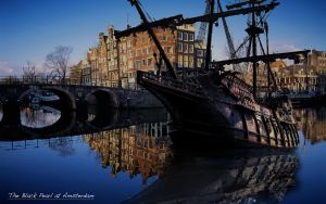 The black pearl at Amsterdam by joeyvandewouw