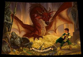 Smaug by StawickiArt