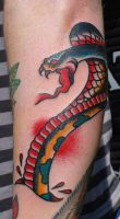 Alex Cobra by HammersmithTattoo