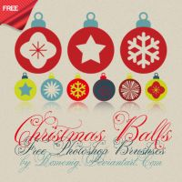 Xmas Balls Brushes by Romenig