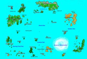 The map of Vojmearth by Zegovia