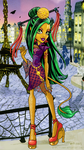 JinaFire Long Scaris City of Fright by Flooks