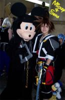 King Mickey and Sora by GmrGirlX