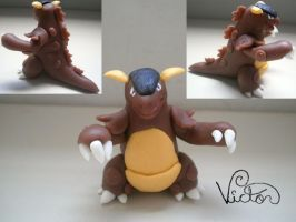 115 Kangaskhan by VictorCustomizer