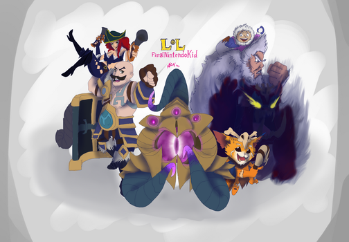 League of Legends: Finalnintendokid by manngco