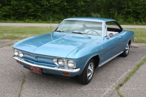 1966 Chevy Corvair Coupe by aibrean