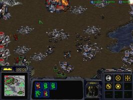 Starcraft brood war by Unh0lyfurball