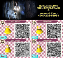 Ruka QR code for Animal Crossing: New Leaf by TeenBulma