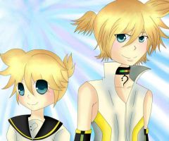 Len and Append by Calia30