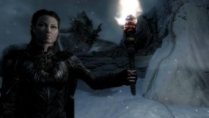 Paarthurnax and Solace II by Solace-Grace