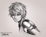 Genos - OPM by Anadia-Chan