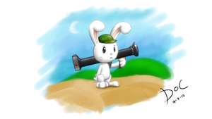war bunny by waritsala