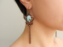 "Earrings ""Leila"" by UrsulaOT"