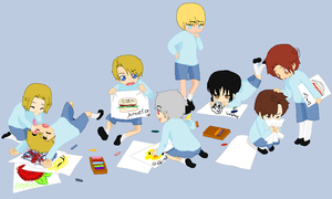 Failed Kindergarten Hetalia by KawaiiGirl15