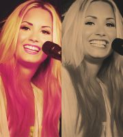 Demi Collage. by My-Kryptonite1