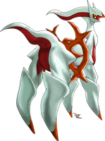 Arceus Fire Type by Xous54