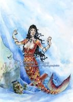 Mermaid of Thera by MeredithDillman