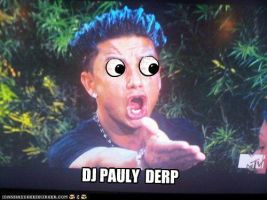 DJ PAULY DERP by unsanemaker