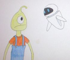A Childhood Meeting by Cartooniac55