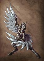 Ungulate warriors - pegasus by Mickeytheretriever