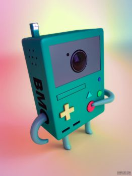 Beemo is Camera! by entangle