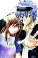 erza x jellal by michelleteng