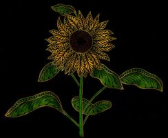 Fantasy Sunflower by Jewelfly