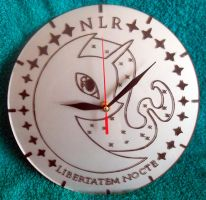 MLP - 'NLR' (clock ENGRAVE) by Cerebralis
