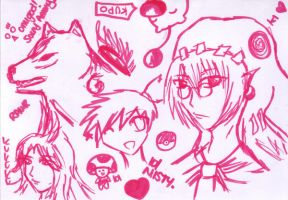 games scribbles by Nikkichuzillah