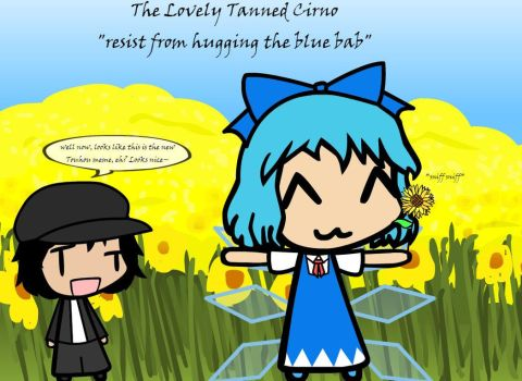 The Lovely Tanned Cirno by Weasels777