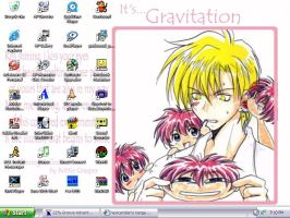 Gravitation -Whitish bg- by hExIdEvIaNt